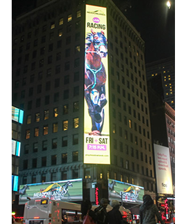 LED billboards